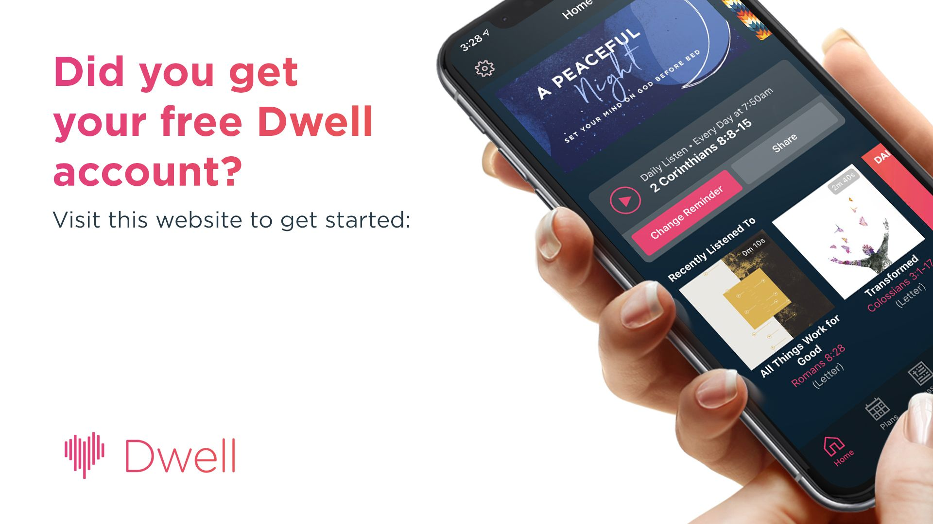 Dwell 30 day trial