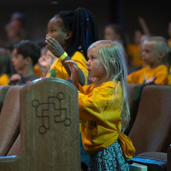 Child at Vacation Bible School