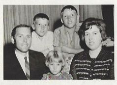 Dennis Treat and Family FBC Piedmont Pastor 1961