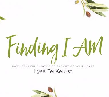 Finding I AM by Lysa TerKeurst Logo